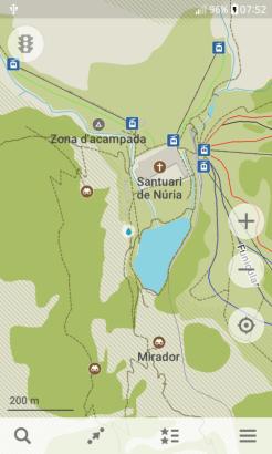 Maps_Me zona de Núria