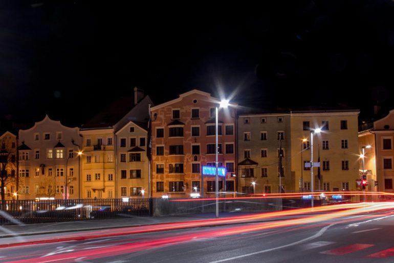Innsbruck at night 2