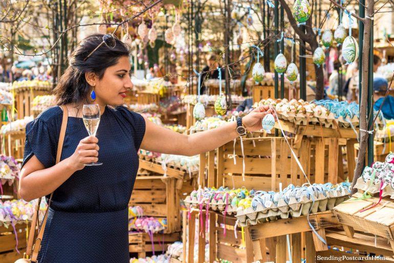Vienna Easter market