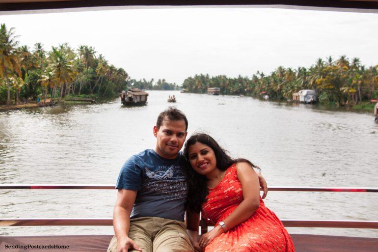 Kerala houseboat Alleppey, Kerala, India - Sending Postcards Home 10