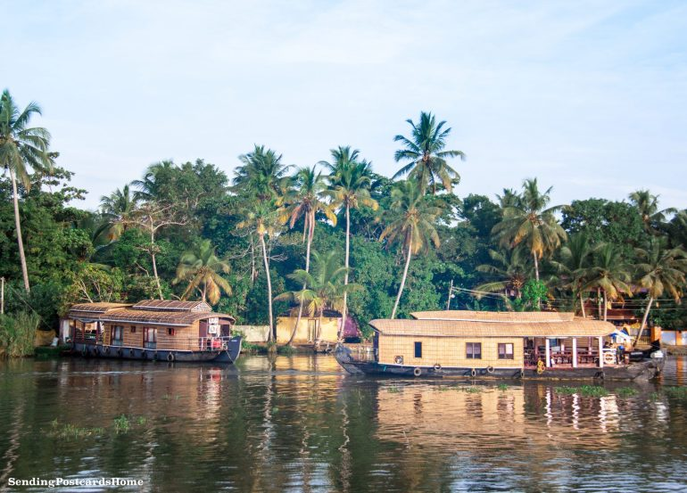 Kerala houseboat Alleppey, Kerala, India - Sending Postcards Home 15