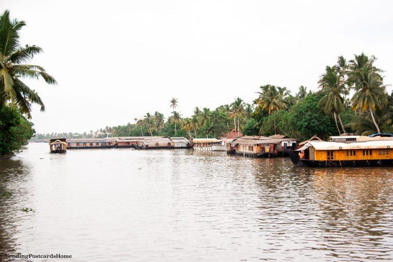 Kerala houseboat Alleppey, Kerala, India - Sending Postcards Home 18