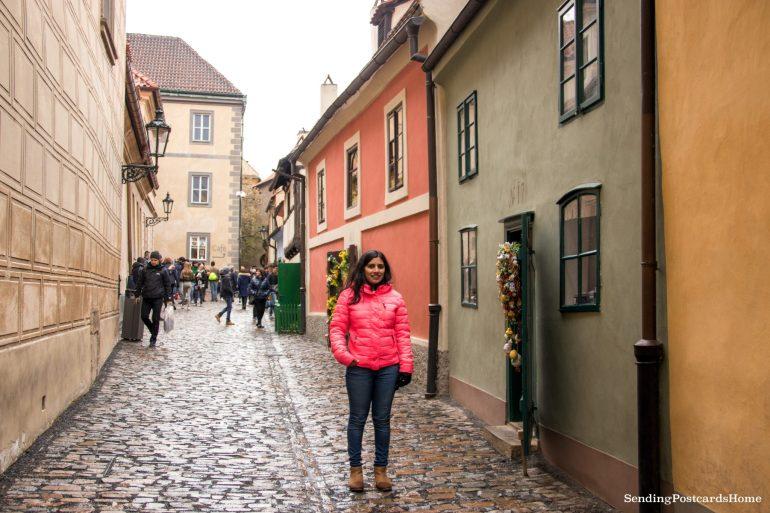 Golden Lane Prague Castle