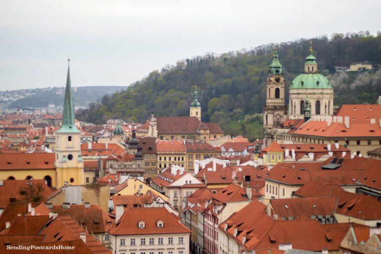 Top View Prague Orange Roof 2