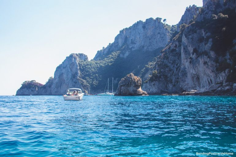 Capri, Italy - Boat ride around the island - View 2