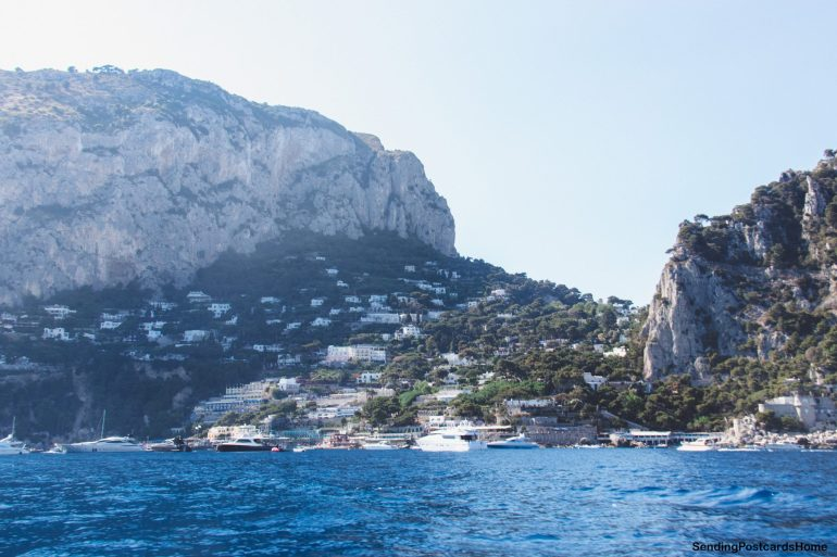 Capri, Italy - Boat ride around the island - View 3
