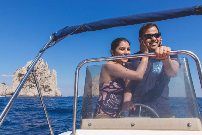 Capri, Italy - Rent a boat 4
