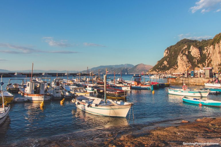 Capri, Italy - View 1
