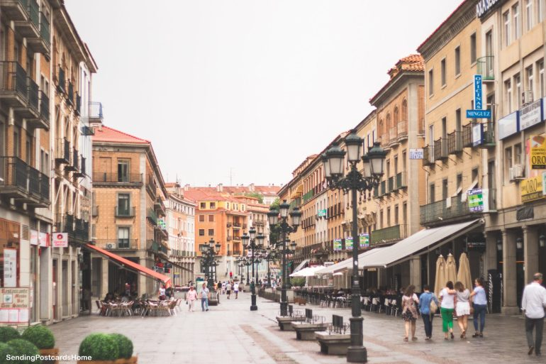 Day trip from Madrid to Segovia, a medieval city, Madrid Spain