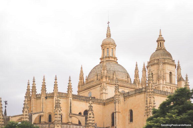 Day trip from Madrid to Segovia, a medieval city, Madrid, Spain - Plaza Mayor - Segovia Cathedral 3