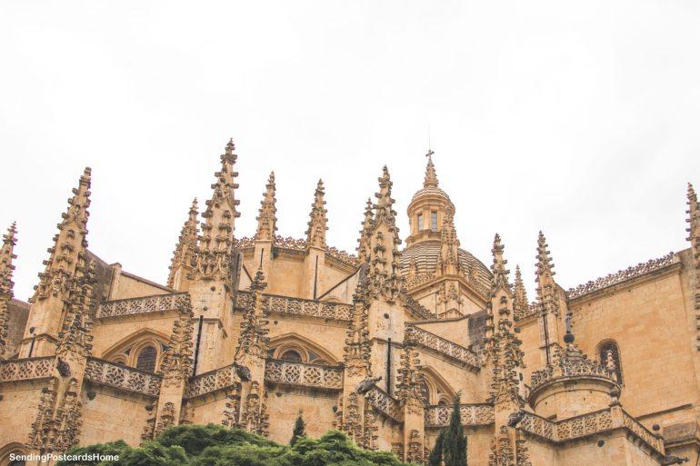 Day trip from Madrid to Segovia, a medieval city, Madrid, Spain - Plaza Mayor - Segovia Cathedral 4