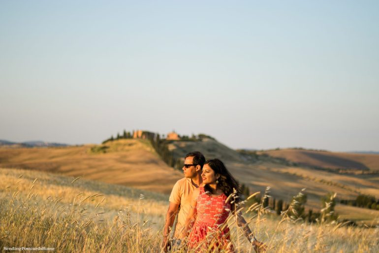 Road trip in Tuscany, Asciano, Italy - Sunset view, Travel blog 8