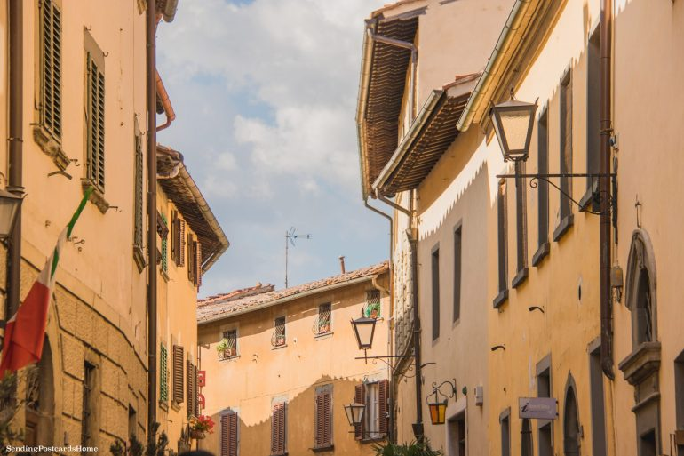 Road trip in Tuscany, Chianti, Italy - Street View - Travel Blog 1