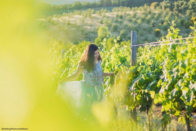 Road trip in Tuscany, Chianti, Italy - Tuscan Villa, Sunset View, Vineyards- Travel Blog 7