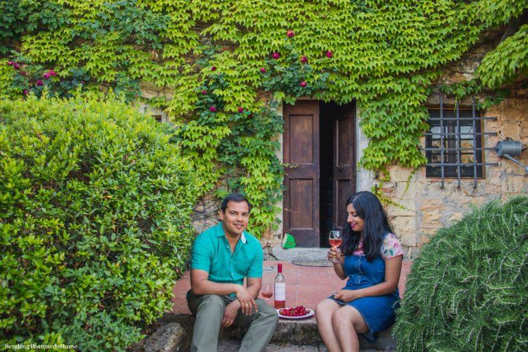 Road trip in Tuscany, Chianti, Italy - Tuscan Villa, Vineyards- Travel Blog 1