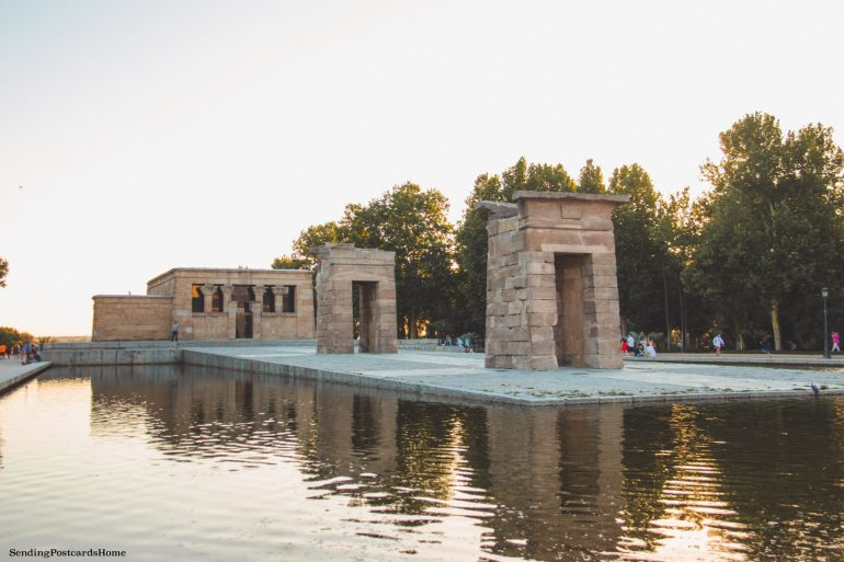 Things to do in Madrid - Debod Egyptian temple, Spain, Madrid - Travel Blog 2