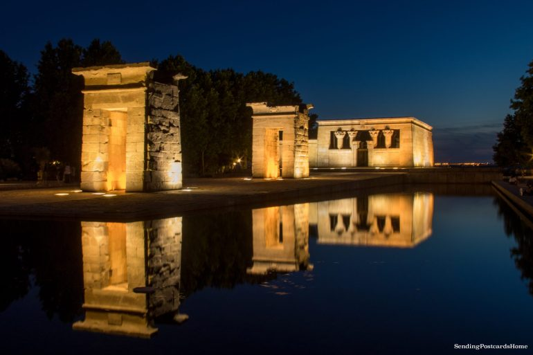 Things to do in Madrid - Debod Egyptian temple, Spain, Madrid - Travel Blog 5