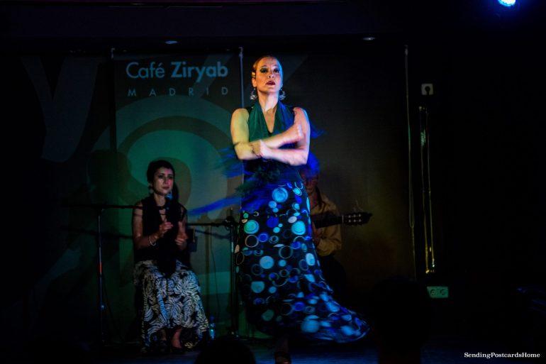Things to do in Madrid - Flamenco Dance, Cafe Ziryab, Madrid, Spain - Travel Blog 1