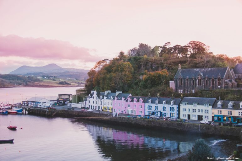 Ultimate road trip in Scotland Highlands - Portree, Isle of Skye, Scottish Highlands, Scotland - Travel Blog 1