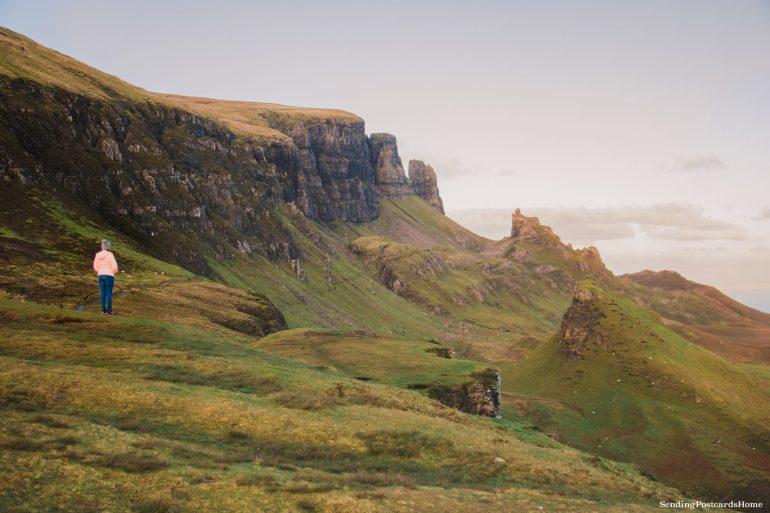 Ultimate road trip in Scotland Highlands - Quiraing, Isle of Skye, Scottish Highlands, Scotland - Travel Blog 2