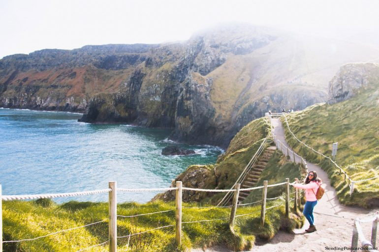 The Drive to Giants Causeway and Beyond; Carrick-a-rede, Northern Ireland 4