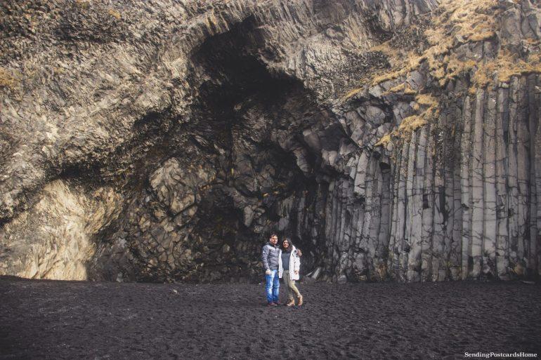 Land of Fire & Ice! First Impressions on Iceland - Reynisfjara black sand beach, Iceland.jpg