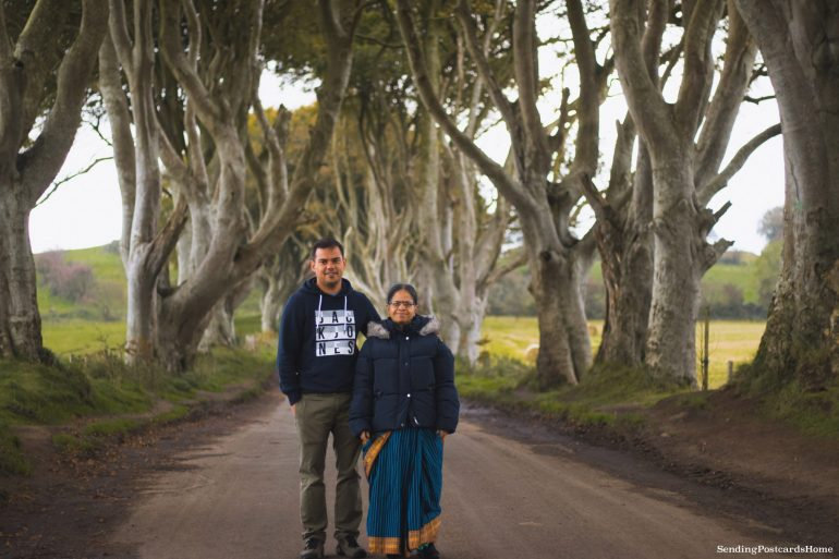 The Drive to Giants Causeway and Beyond; The dark hedges, Northern Ireland