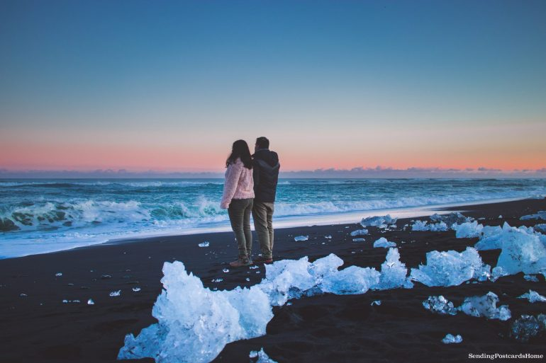 Itinerary for winter / spring road trip in Iceland - Diamon beach