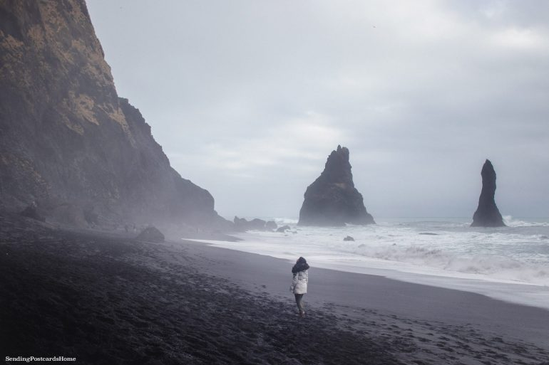 Itinerary for winter / spring road trip in Iceland - Reynisfjara Black Sand Beach