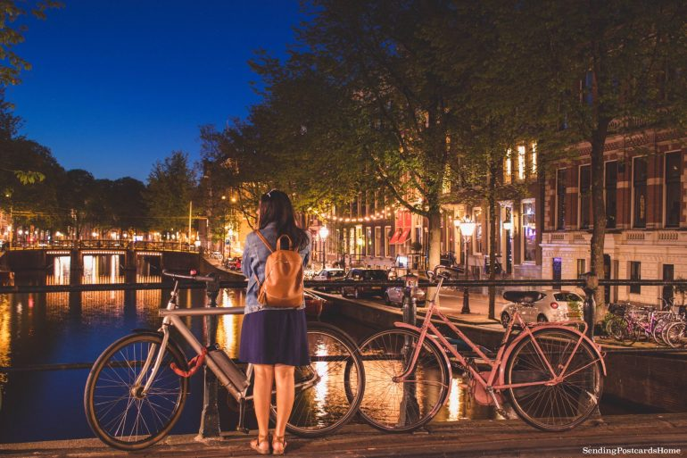 Amsterdam at night 1 _ Amsterdam Guide for the First Timers