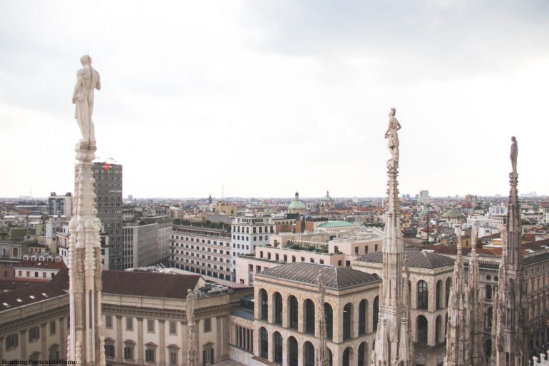 Milan rooftop view _ Top 5 Experiences in Milan You Can't Miss
