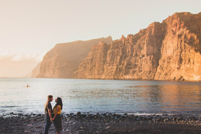 Los Gigantes beach Tenerife _ Tenerife - the charm of Canary Islands