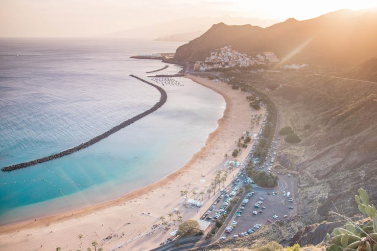 Playa de Las Teresitas beach _ Tenerife - the charm of Canary Islands