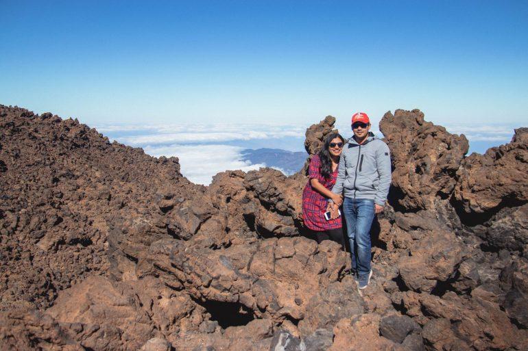 Top of Mt Teide volcano _ Route 11_ Tenerife