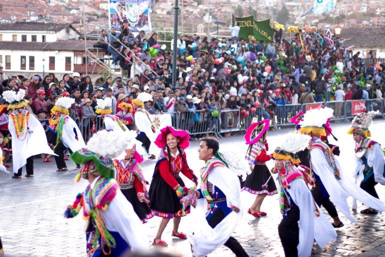 Cultural festival in Cusco, Peru