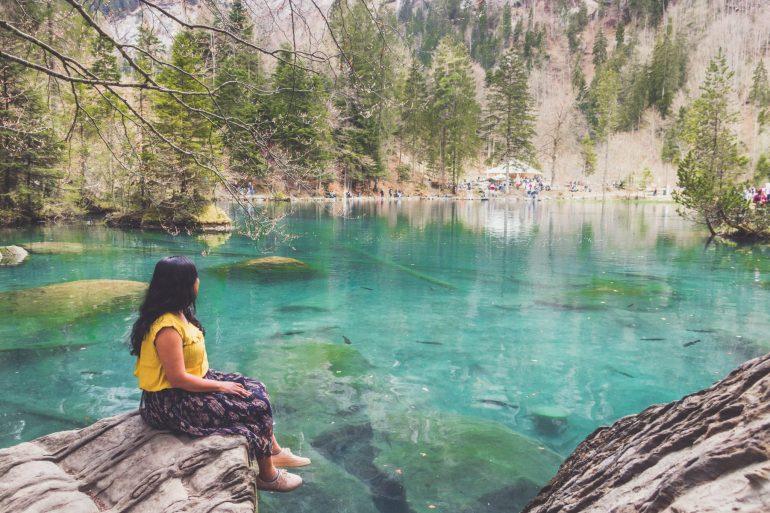 Lake Blausee, Interlaken, Switzerland 1