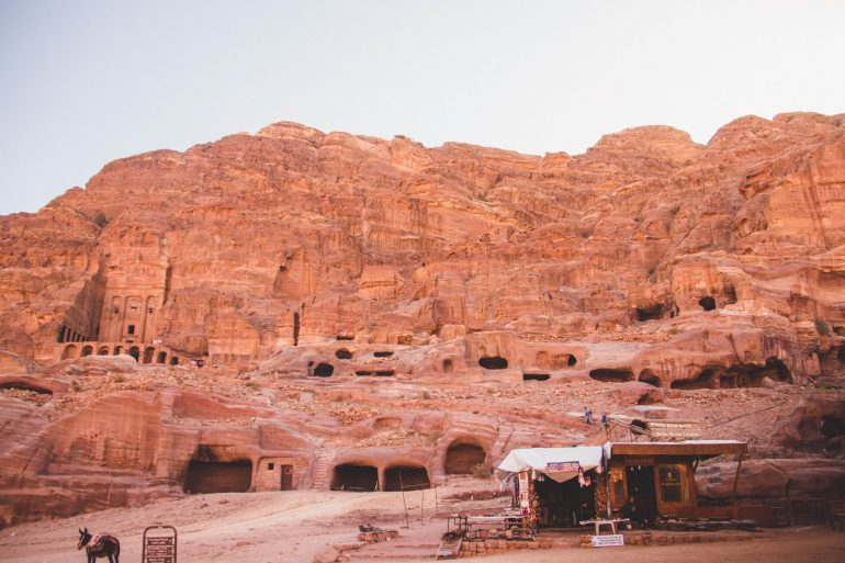 Lost city of Petra 8
