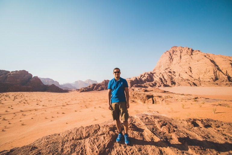 Jordan's desert tour