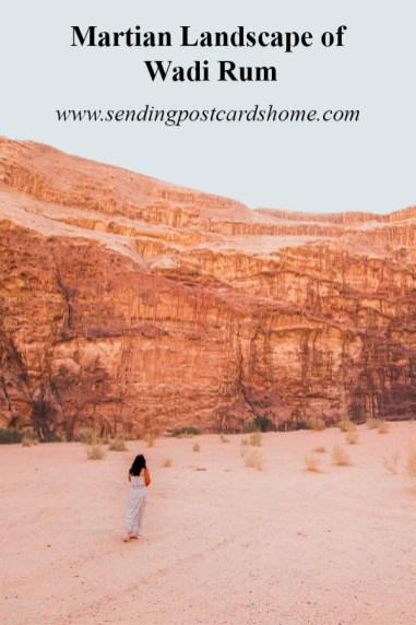 Martian Landscape of Wadi Rum, Jordan