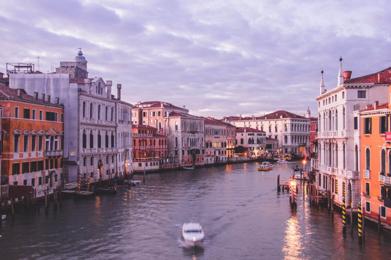 View from Ponte Dell'Accademia, photo spot of Venice 1