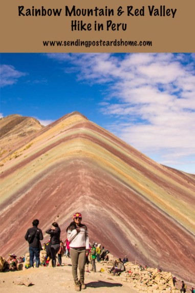 Rainbow Mountain & Red Valley Hike in Peru
