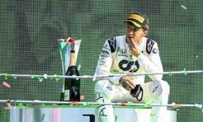 Pierre Gasly élu cinquième meilleur pilote de F1 2020 par ses pairs