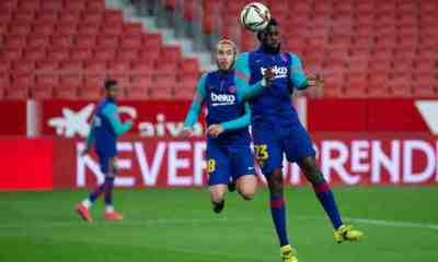 Lenglet, Umtiti et Griezmann titulaires avec le Barça face à Osasuna