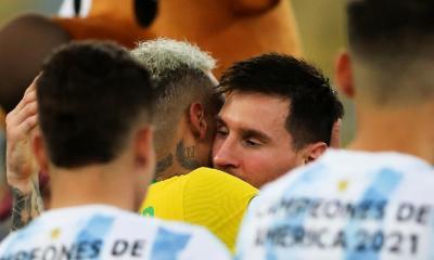 Copa America : secoué par la défaite, Neymar rend un vibrant hommage à Messi !