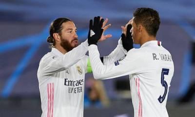 Le beau message de Sergio Ramos à Raphaël Varane Real France