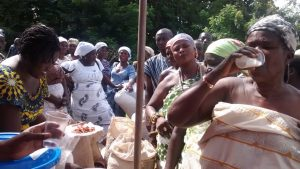 Queen mothers endorse SEND-GHANA's soya products