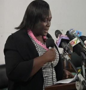 Harriet Nuamah-Agyemang, Senior Programme Officer, SEND GHANA |Photo: SEND GHANA