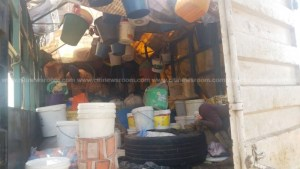 Kayayei stopped at Ejisu cry for government support after being returned to Accra