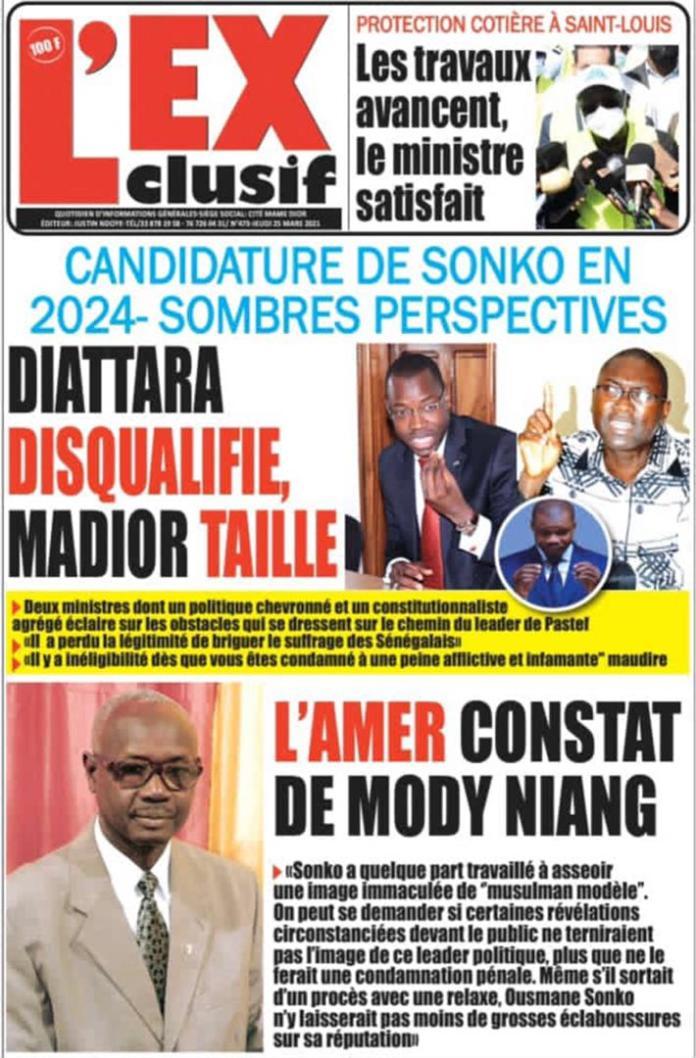 Affaires de mœurs : Mody Niang s'attend à un procès risqué pour Ousmane Sonko