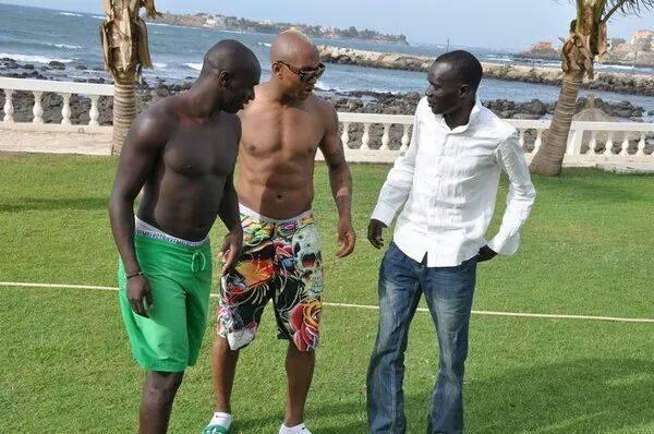 Arrêt sur image: Elhadj Diouf et Issiar Dia décontractés… Regardez
